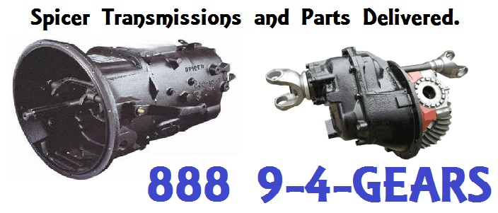 Spicer Transmission Parts Warehouse Call 888 944 3277 For