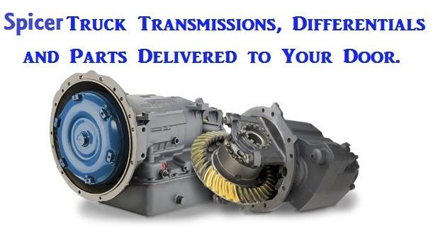 Rebuilt Spicer Transmission and Rebuilt Spicer Auxiliary